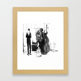 New Orleans Music in the Streets Framed Art Print