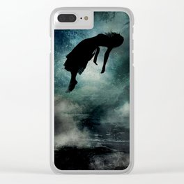 Live Deliciously Clear iPhone Case