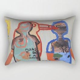 Please Do It Again Rectangular Pillow