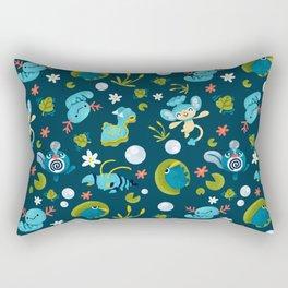 Bubble Beam Rectangular Pillow