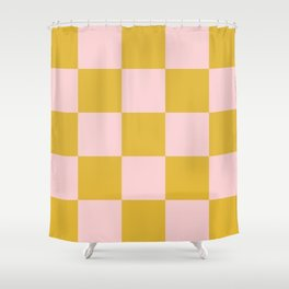 Classic Retro Lavellan Shower Curtain