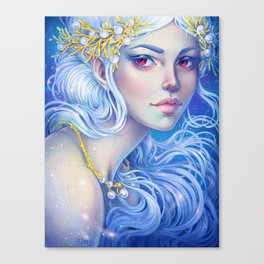 White Fairy Canvas Print