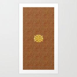 """Marron Doré"" Art Print"