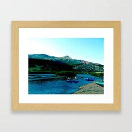 Colorado River, 2011 Framed Art Print