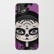 She's In Parties iPhone X Slim Case