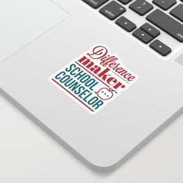 School Counselor Difference Maker Sticker