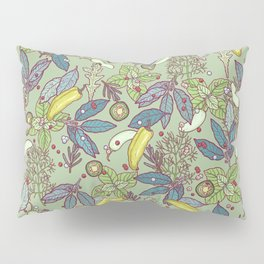 go green in spring Pillow Sham