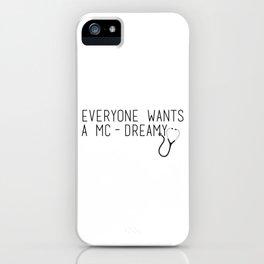 MC-Dreamy iPhone Case