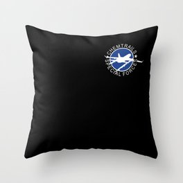 Chemtrails Crew Throw Pillow