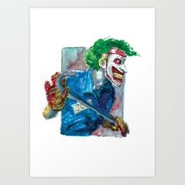 Joker Dc Art Print