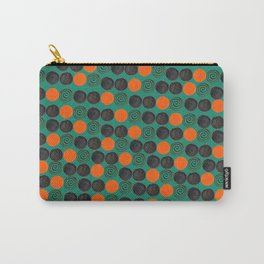 Dots and swirls Carry-All Pouch