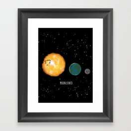 Moonzoned Framed Art Print