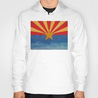 arizona Hoodies featuring Arizona by Michael Creese