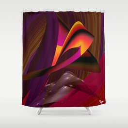 Over the Rainbow by Kenny Rego Shower Curtain