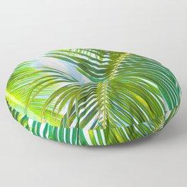 Aloha Lāhainā Palms Maui Hawaii Floor Pillow