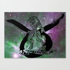 Astrology Taurus Sign Canvas Print