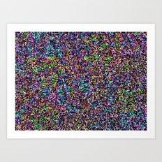 treemap mosaic - low blood pressure Art Print