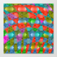 Colorful abstract magic pattern Canvas Print