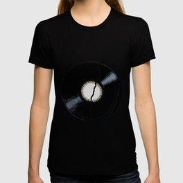 Broken Plain Label Record T-shirt