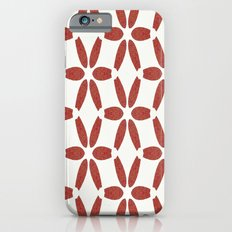 Red Mosaic Pattern iPhone 6s Slim Case