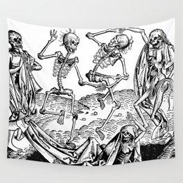 Danse Macabre Wall Tapestry