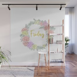 Friday fresh collection golden Wall Mural