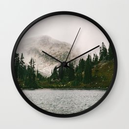 The Forest Lake Wall Clock