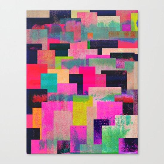 colour + pattern 4 Canvas Print
