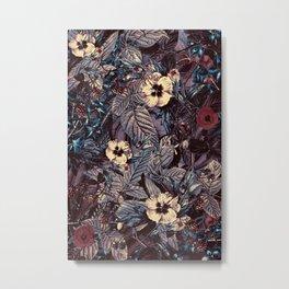 dark flowers Metal Print