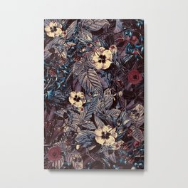 dark flowers #flower #flowers Metal Print