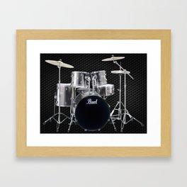 Pearl Drums  Framed Art Print