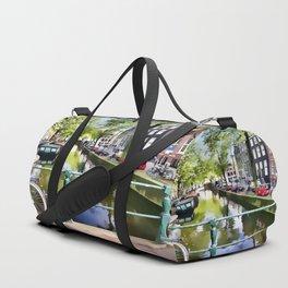 Amsterdam Canal Duffle Bag