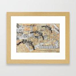 Settee Sortee  Framed Art Print