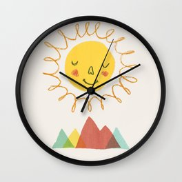 Sunny - Let's go outside Wall Clock