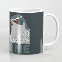 Judgey Goshawk Coffee Mug