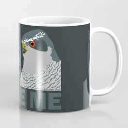 Judgey Goshawk Coffee Mug