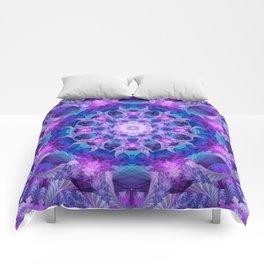 Angelic Gateway Mandala Comforters