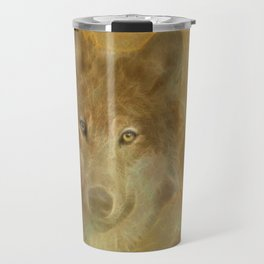 Wolf Moon Travel Mug
