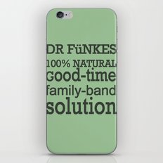 Dr. Funke's 100% natural, good-time family-band solution, 2 iPhone & iPod Skin