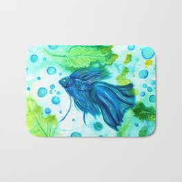 Shimmering Sea Betta Bath Mat