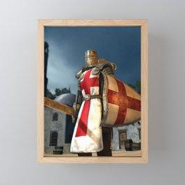 England Soldier   Framed Mini Art Print