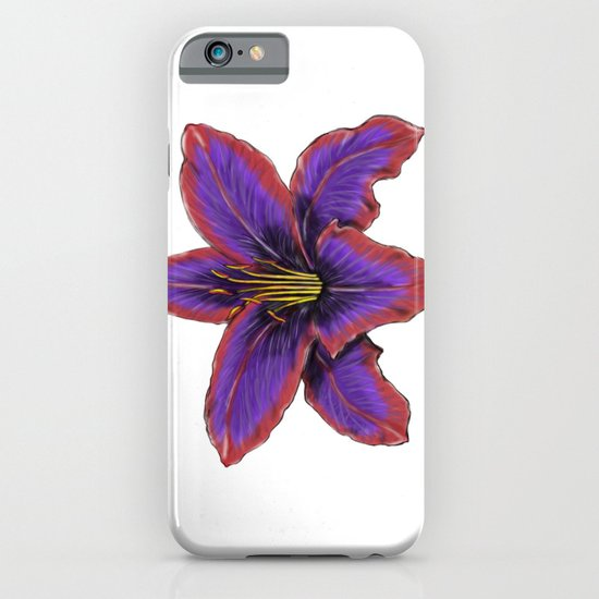 Stylized Lily iPhone & iPod Case