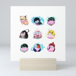 9 Dango Group Mini Art Print