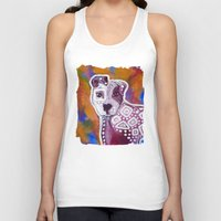 pitbull Tank Tops featuring Pitbull Art by Just Bailey Designs .com