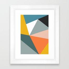 Modern Geometric 33 Framed Art Print