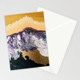 TIDAL WAVE   Abstract acrylic art by Natalie Burnett Art Stationery Cards