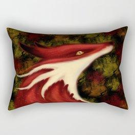 Fox Dragon Rectangular Pillow