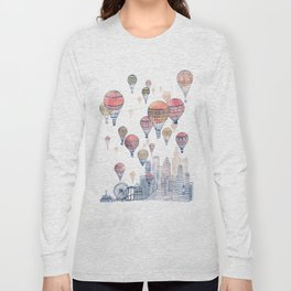 Voyages Over Santa Monica ~ Refresh Long Sleeve T-shirt