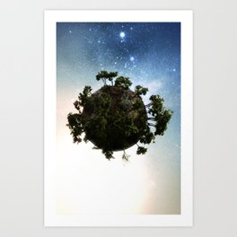 little big planet Art Print