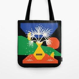 Seaside Winter Tote Bag